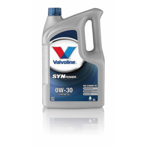 SYNPOWER FE 0W30 motor oil, Valvoline