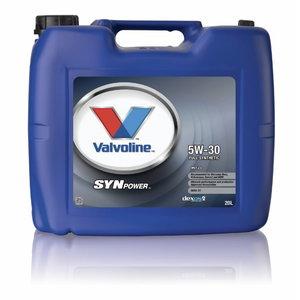 SYNPOWER MST C3 5W30 motor oil 20L, Valvoline