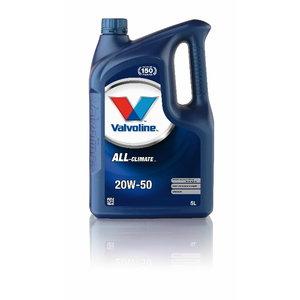 ALL CLIMATE 20W50 motor oil, Valvoline