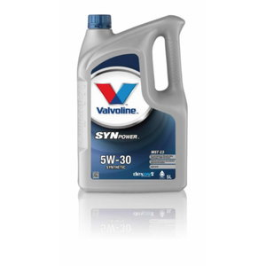 SYNPOWER MST C3 5W30 motor oil, Valvoline