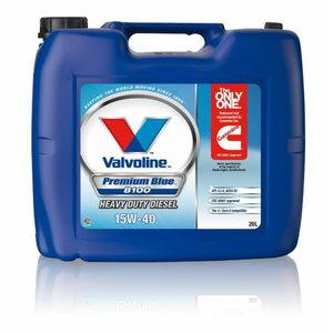 PREMIUM BLUE BLUE 8100 15W40 20L, Valvoline