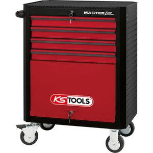 Vežimėlis įrankiams 7 stalčiai MASTER KST, KS Tools