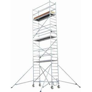 Mobile aluminum scaffolding 8771/, Hymer
