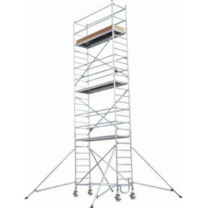Mobile tower with stabilisers SC 80 8771/08, Hymer