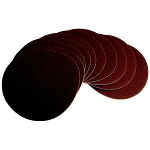 Šlifavimo diskas 150mm, G120, 10 vnt. BTS 800 / 900, Scheppach