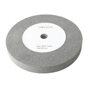 Slīpdisks 200x25x16 mm, K60. BG 200, Scheppach