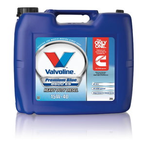 Alyva varikliui PREMIUM BLUE 8600 ES 15W40 20L, Valvoline