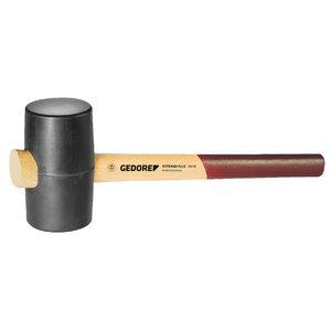 резиновый молоток твёрдый 65мм 226E-2 540г, GEDORE