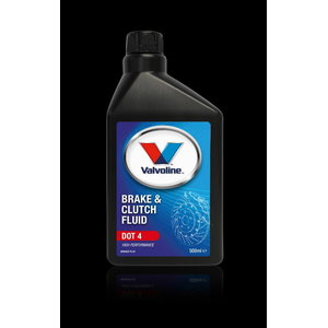 Pidurivedelik BRAKE & CLUTCH FLUID DOT 4 500ml 500 ml, Valvoline