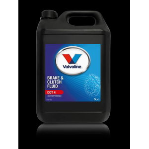 Pidurivedelik BRAKE & CLUTCH FLUID DOT 4 5L, Valvoline