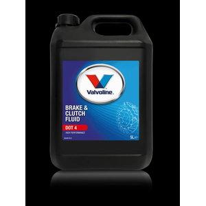 Bremžu un sajūga šķidrums Brake & Clutch Fluid DOT 4 5L, Valvoline