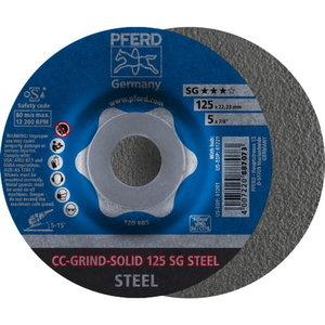 Šķiedras disks 125 CC GRIND SG-INOX, Pferd