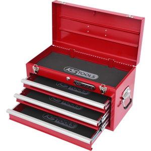 Irankių dėžė, 3 stalčiai, 508x255x303mm, KS Tools