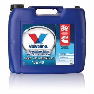 Motoreļļa PREMIUM BLUE ONE SOL GEN2 15W40, Valvoline