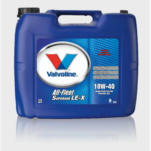 ALL FLEET SUPERIOR LE-X 10W-40, Valvoline