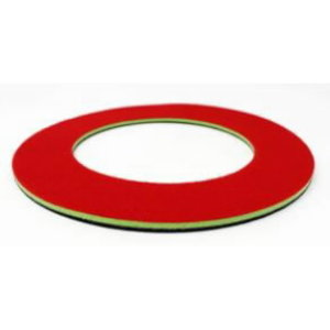Painduv ketas Trio-le (roheline/punane) 200/125mm diam., Lägler