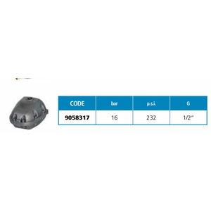 Kondensaadi auto-dreen SAC 140 1/2', ujuk-klapiga, Fini