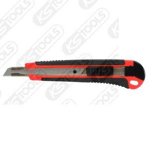 Universal snap off blade knife, 140mm, blade 18x100mm, KS Tools