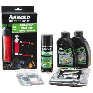 Mauriņa pļaujmašīnu starta/apkopes komplekts, Arnold
