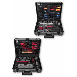 "1/4"" + 1/2"" universal tool set, 130 pcs., KS Tools"