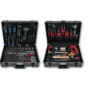 """1/4"""" + 1/2"""" universalus įrankių komplektas 149 vnt, KS Tools"""