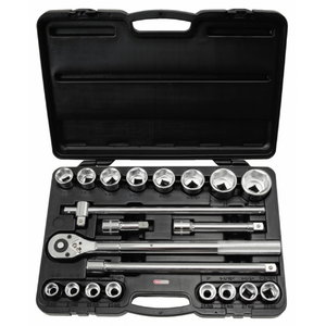 Padrun 3/4 kmpl 21osa CLASSIC 19-50mm, KS Tools