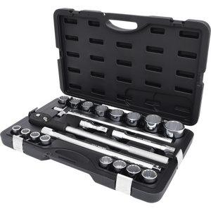 """3/4"""" CLASSIC Bi hex socket set, 21pcs, Kstools"""