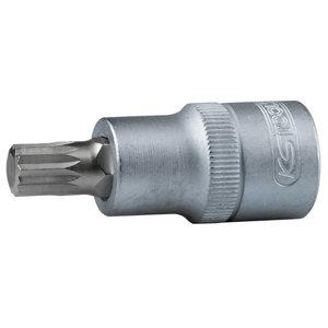 Ruuvikärkihylsy CHROME+ 1/2´´ XZN M6, KS Tools