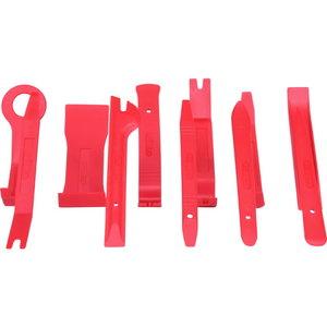 Plastheeblite kmpl rullitavas kotis 11pcs, KS Tools
