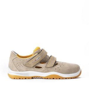 Safety sandals Mambo 01L Ritmo, beige, S1P SRC, Sixton Peak