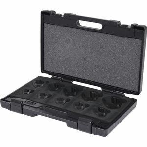 Avatud silmuspadruni kmpl, SW 19-46 mm, 10-osa, KS Tools
