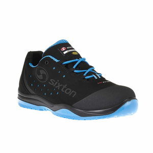 Safety shoes Cuban 01L Ritmo, black/blue, S1 SRC ESD, Sixton Peak