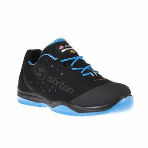 Safety shoes Cuban 01L Ritmo, black/blue, S1 SRC ESD 47, Sixton Peak