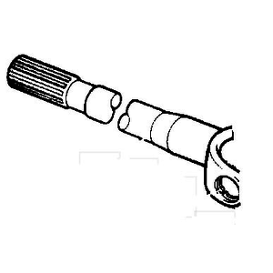 Veovõll, sisemine osa (pikk), JCB
