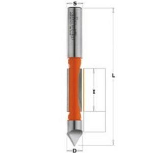 - trimmiterä ohjaimella 8 x 19 mm, CMT