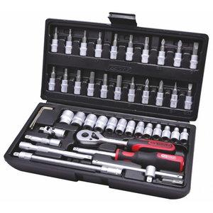 """Socket set 1/4"""" 48-pcs CLASSIC, KS Tools"""