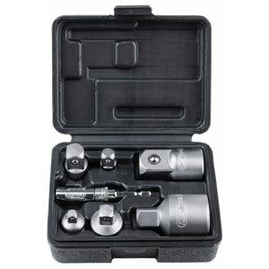 Adaptor set 7-pcs, KS Tools