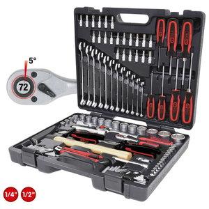 1/4´´-1/2´´  tööriista kompl, 97 -osa, KS Tools