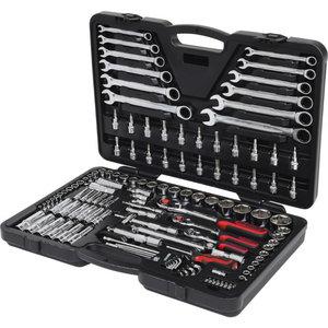 Socket 1/2+1/4+3/8set 124pcs, KS Tools