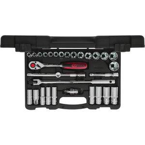 """padrun kmpl 1/2"""" 30-osa CHROME+ tollmõõdus, KS Tools"""
