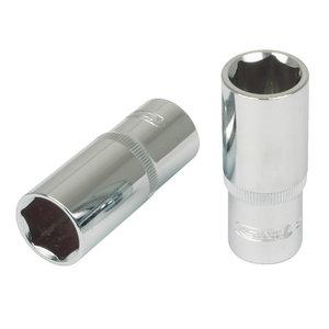 """Muciņa seškansu dziļā 1/2"""" 24mm CHROME+, KS Tools"""