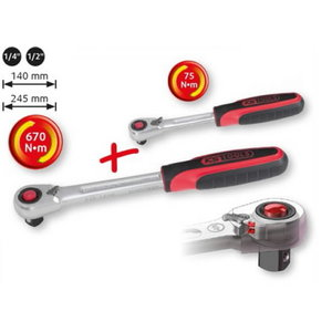 narre kmpl 1/4´´-1/2´´ 2-osa SLIMPOWER, KS Tools