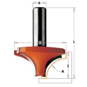 - Ovolo-pyöristysterä 6 x 23 mm, CMT