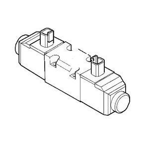 Valve 2 spool loader float, JCB