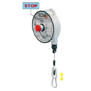 Balancer TECNA 9348, cap.6-8kg, 2500mm,Al..body, inox rope, Tecna S.p.A.