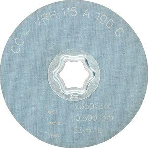 Neaustinis šlif. diskas 115mm A 100 G CC-VRH, Pferd