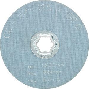 Neaustie diski 125mm A100 G CC-VRH, Pferd
