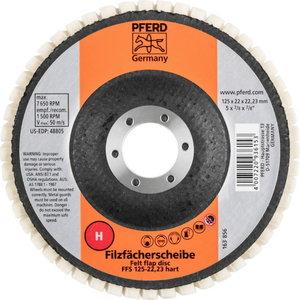 FELT FLAP DISCS FFS 125/22,23 HARD, Pferd