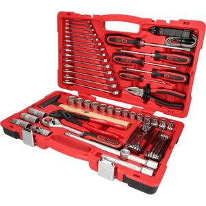 """Universalus įrankių komplektas 1/2"""" , 47 vnt, KS tools"""