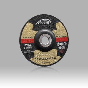 Šlifavimo diskas metalui 150x6,8mm A24SBF PRO 27, MOST